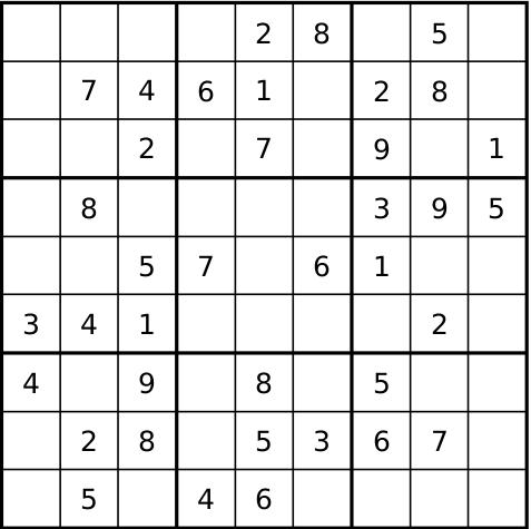 Sudoku Helppo