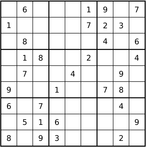 Sudoku Vaikea